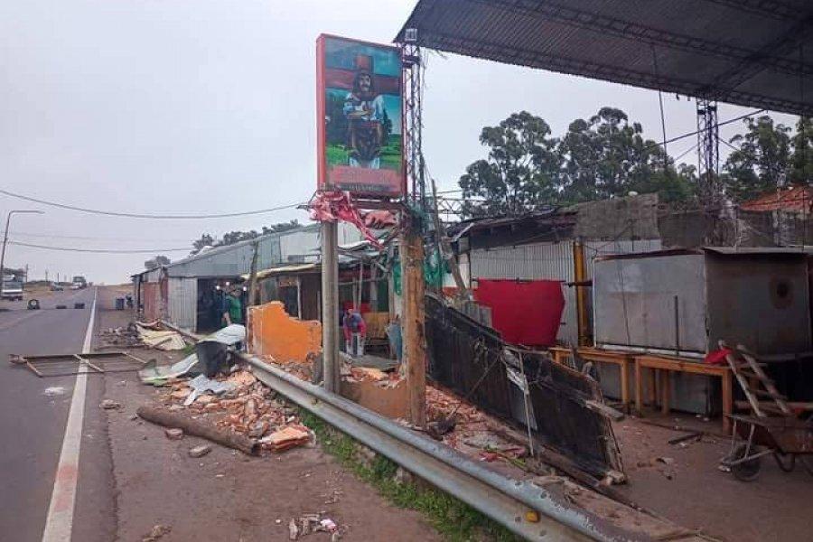 Gaucho Gil: Dividieron el terreno del predio para instalar los nuevos puestos