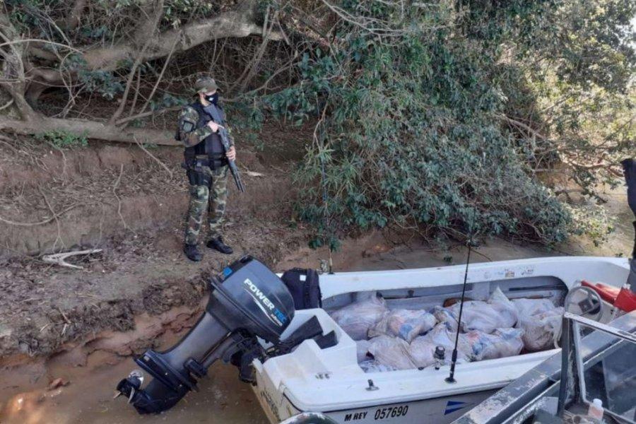 Prefectura secuestró 700 kilos de carpinchos faenados en Ituzaingó