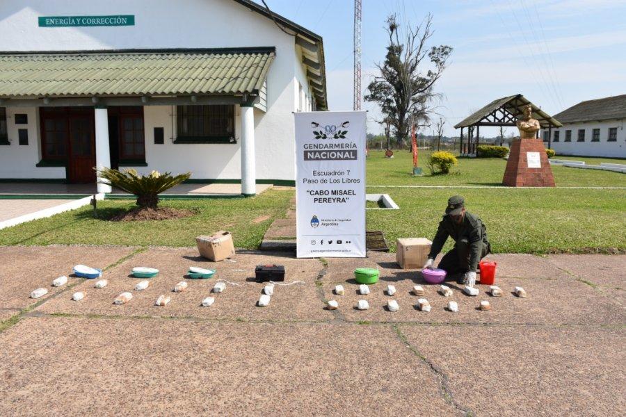 Corrientes: secuestraron 10 kilos de marihuana en dos encomiendas