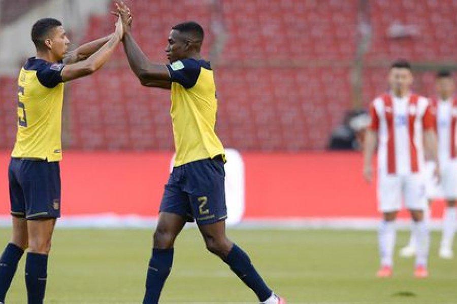 Ecuador le ganó a Paraguay y le metió presión a la Selección Argentina