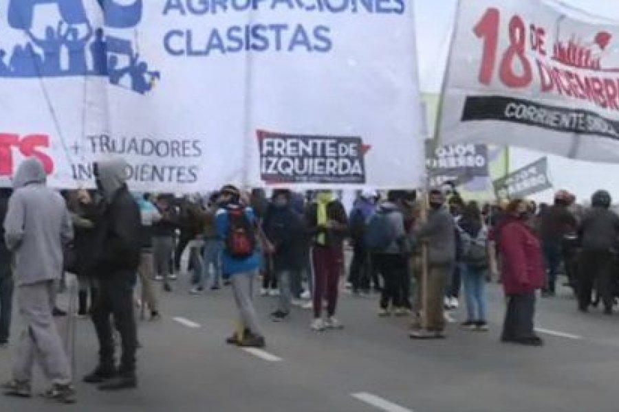 Sorpresivo corte de la izquierda en Puente Pueyrredón