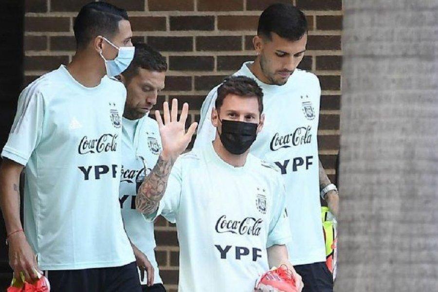 La Selección argentina arribó a San Pablo de cara al partido ante Brasil