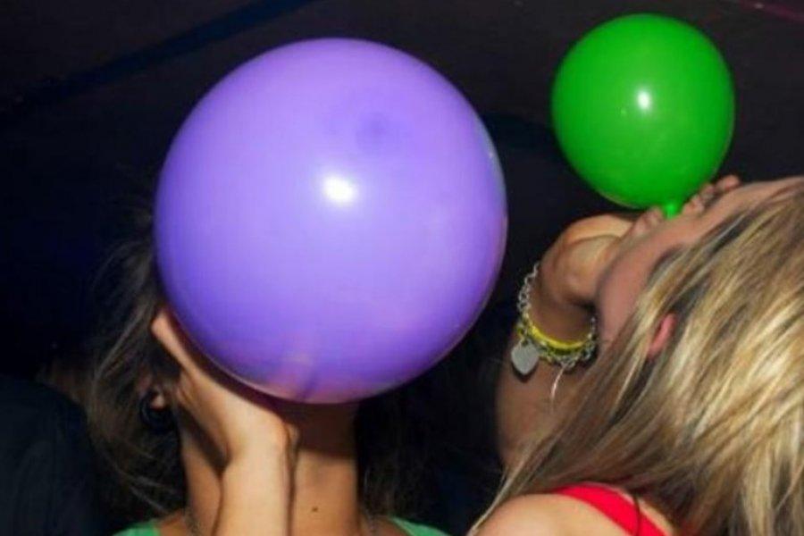 """Preocupación por el consumo entre jóvenes de la droga conocida como """"gas de la risa"""""""