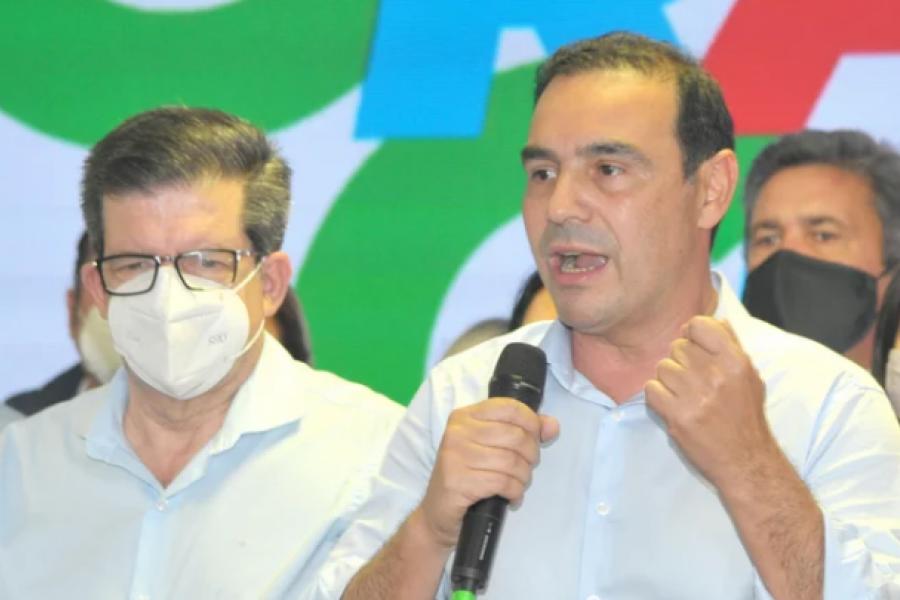 Valdés negó una reforma constitucional y le envió un mensaje a la Legislatura