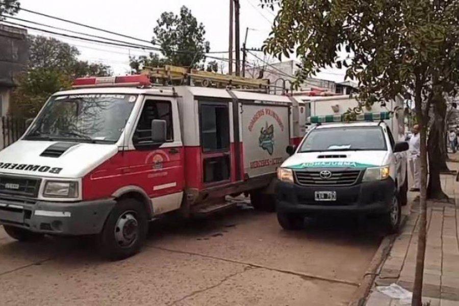 Incendio dejó tres personas hospitalizadas en Mercedes