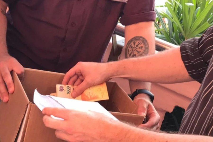Escrutinio de Corrientes: en una urna había un sobre con billetes