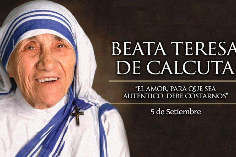 La Iglesia Católica celebra hoy a Santa Teresa de Calcuta