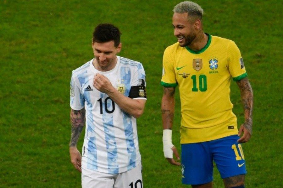 Argentina visita a Brasil en el primer clásico después de la conquista de la Copa América