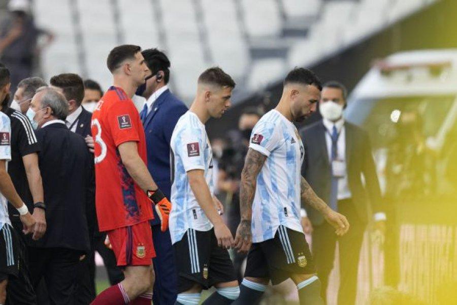 Las posibles sanciones tras el partido suspendido entre Argentina y Brasil