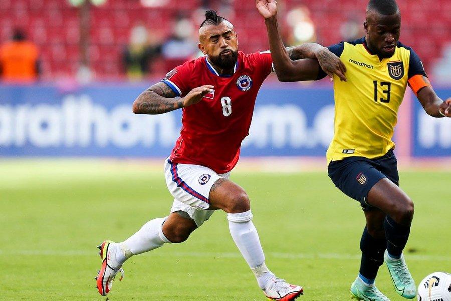 Ecuador y Chile no pasaron del empate en Quito