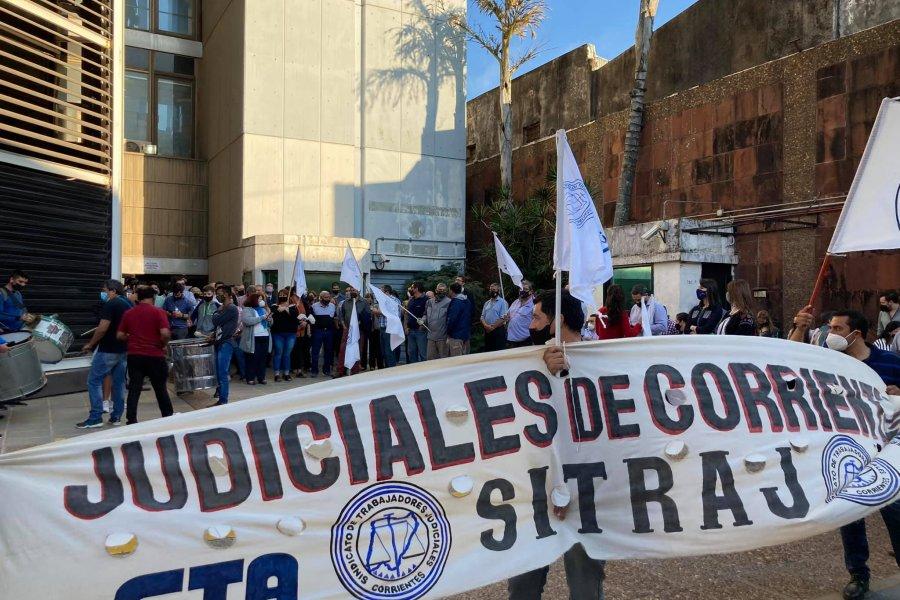 Judiciales no merman el reclamo por salarios en el inicio de septiembre