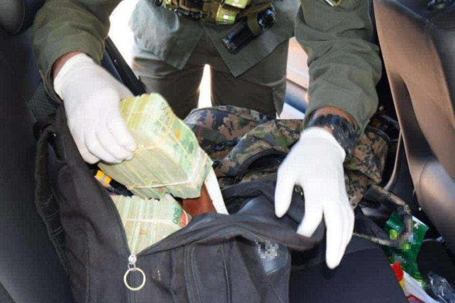 Corrientes: Incautan más de cinco millones de pesos sin justificación legal