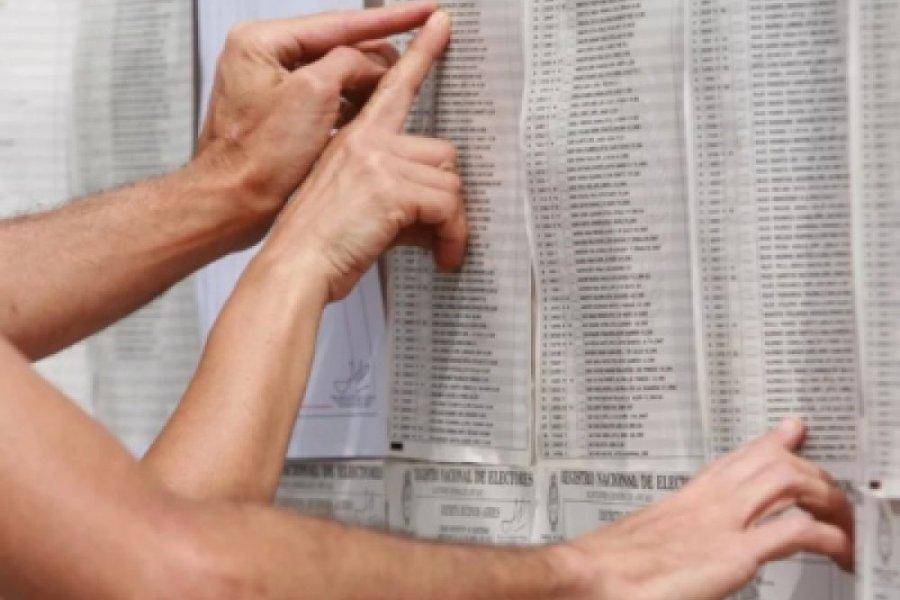 Dónde voto: Consultá el padrón electoral