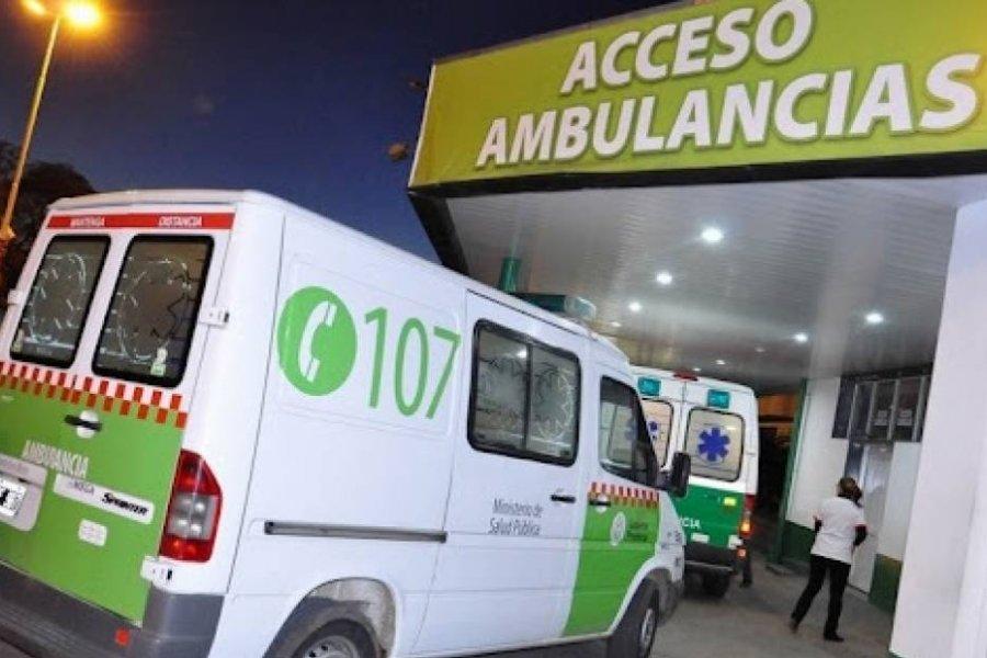 Corrientes: Dos heridos graves tras fuerte choque entre motocicletas