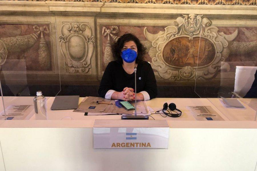 Vizzotti bregó por el fortalecimiento de la producción local de vacunas