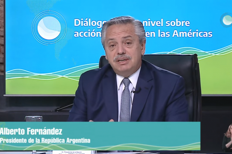 """El Presidente, en la cumbre latinoamericana sobre cambio climático: El momento es ahora"""""""