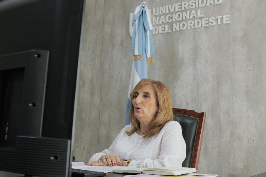El Consejo Superior de la UNNE rindió homenaje a Fabriciano Gómez