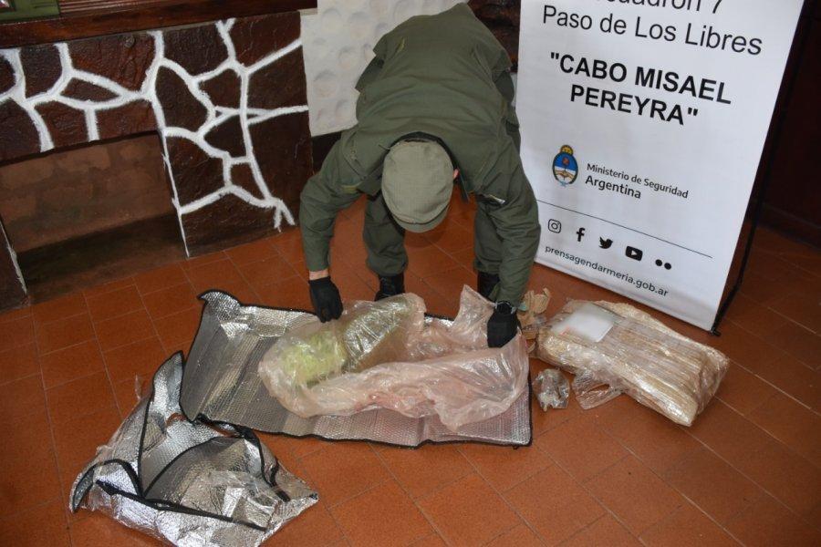 Corrientes: Secuestraron 11 paquetes de marihuana dentro de encomiendas