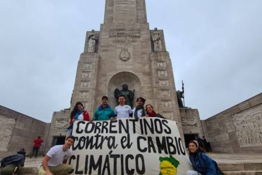 Correntinos participaron de la Cumbre Climática de las Juventudes