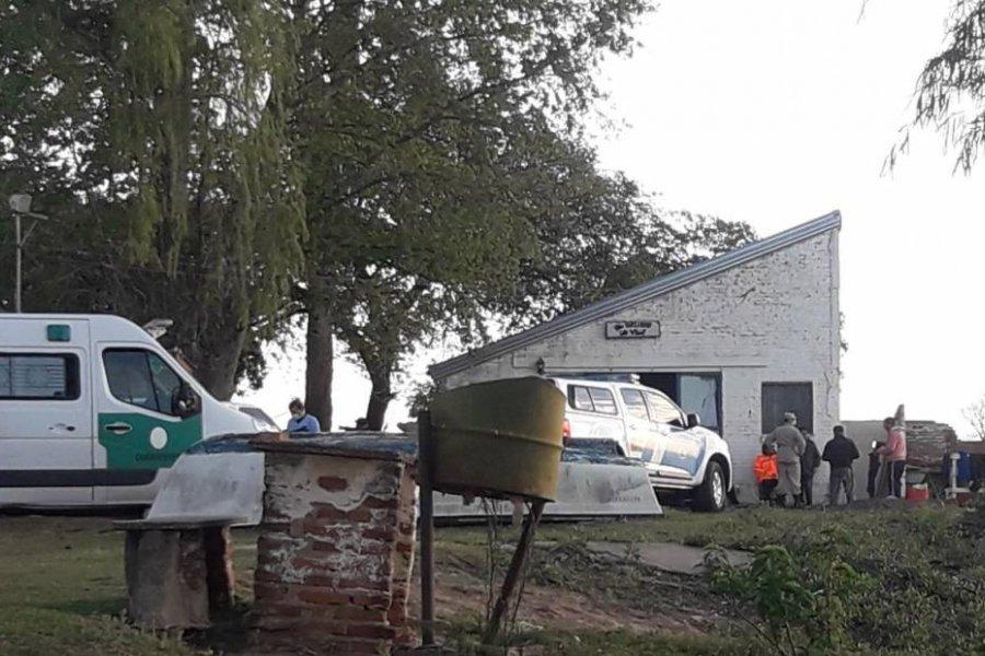 Dos desaparecidos tras el naufragio de una lancha con pescadores en el río Paraná