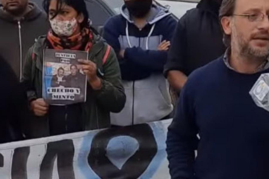 Familiares de Checho y Minto Canteros se manifestaron frente al Juzgado de Mercedes