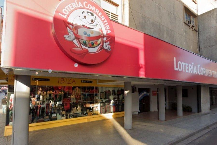 Cuánto pagó Lotería Correntina para mejorar su imagen institucional