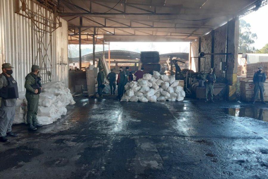 Misiones: Gendarmería realizó la quema de más de dos toneladas de marihuana