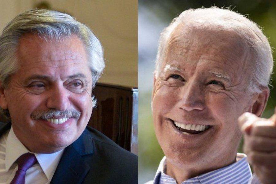 Joe Biden invitó a Alberto Fernández a participar de una cumbre sobre Energía y Clima