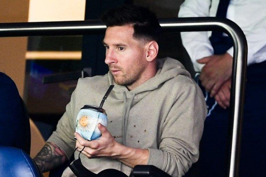 Messi estuvo en la platea: cuándo vuelve a jugar para PSG