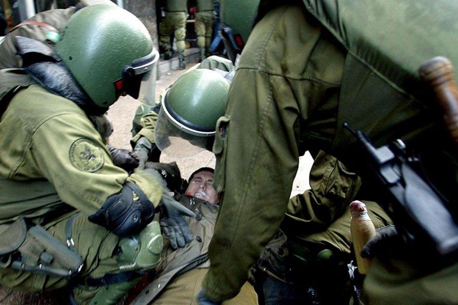 Al menos 11 detenidos en las manifestaciones por el aniversario del golpe de Estado