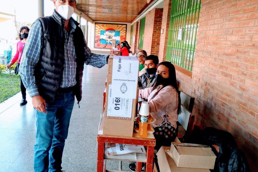 Gatti emitió su voto y manifestó gran expectativa