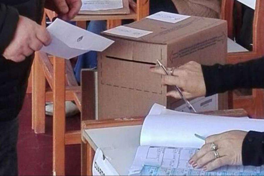 Corrientes: En Capital votó el 60%  del electorado y en el interior el 57%