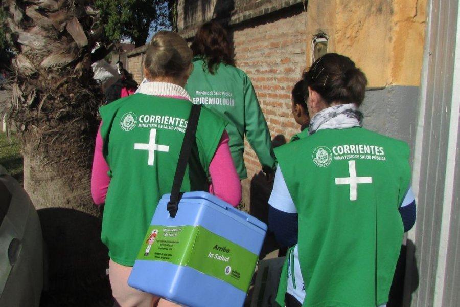 La Provincia continúa completando esquemas de vacunación Covid-19 en barrios de la capital