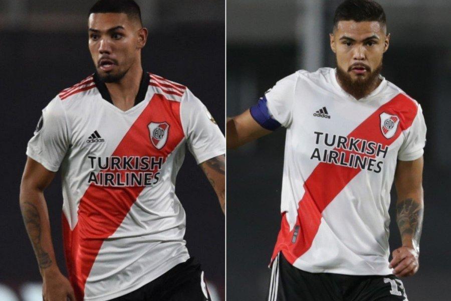 Gallardo recupera a sus centrales: Paulo Díaz y Héctor David Martínez