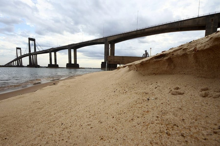 Alerta de bajante en los ríos Paraná y Uruguay