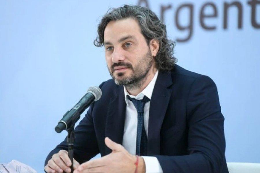 Santiago Cafiero: Frontalmente, ningún compañero me dijo que me tengo que ir