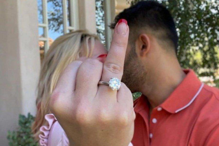 Britney Spears anunció su compromiso matrimonial
