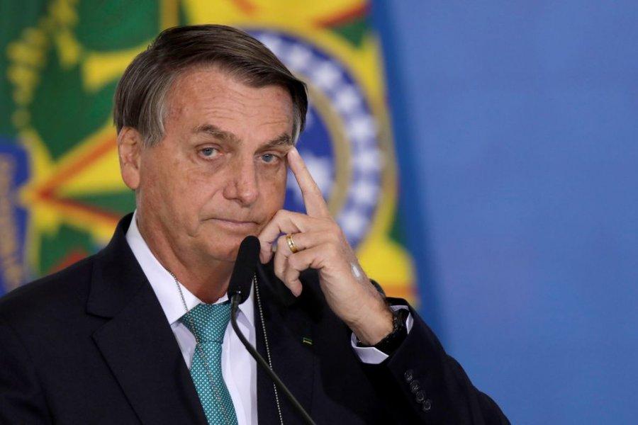 Bolsonaro admitió que no se vacunó y Brasil ya superó los 21 millones de contagios
