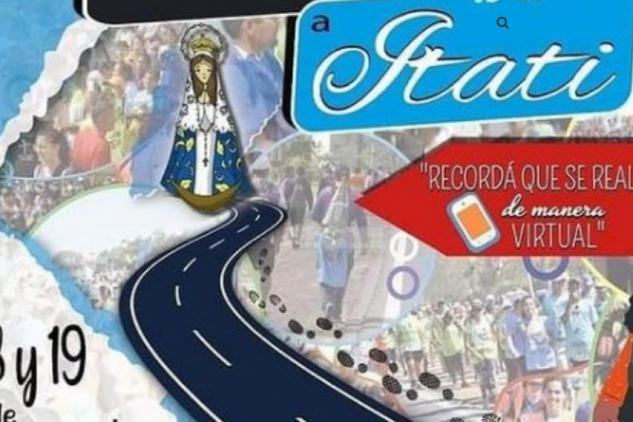 Resolución: La 42ª Peregrinación a Itatí de los jóvenes del NEA sólo será virtual