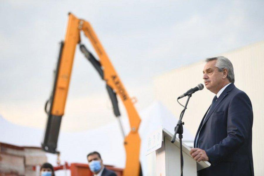 Alberto Fernández pone en marcha 25 obras en 15 provincias