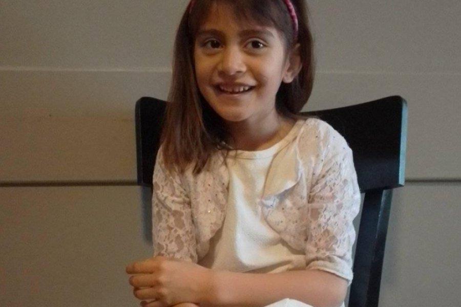 Kiara, la niña correntina que espera un corazón
