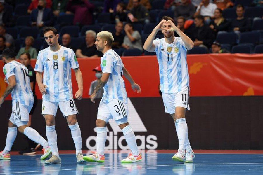 La Selección Argentina de Futsal debutó goleando 11-0 a Estados Unidos