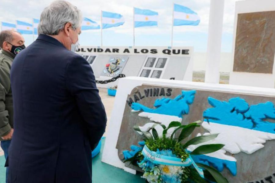 Qué dijo Alberto Fernández tras la identificación del gendarme correntino caído en Malvinas