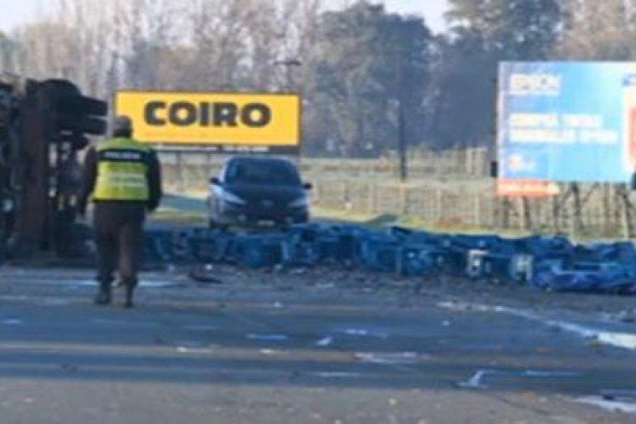 Chascomús: Murió un bebé de 4 meses por un triple choque en la Ruta 2
