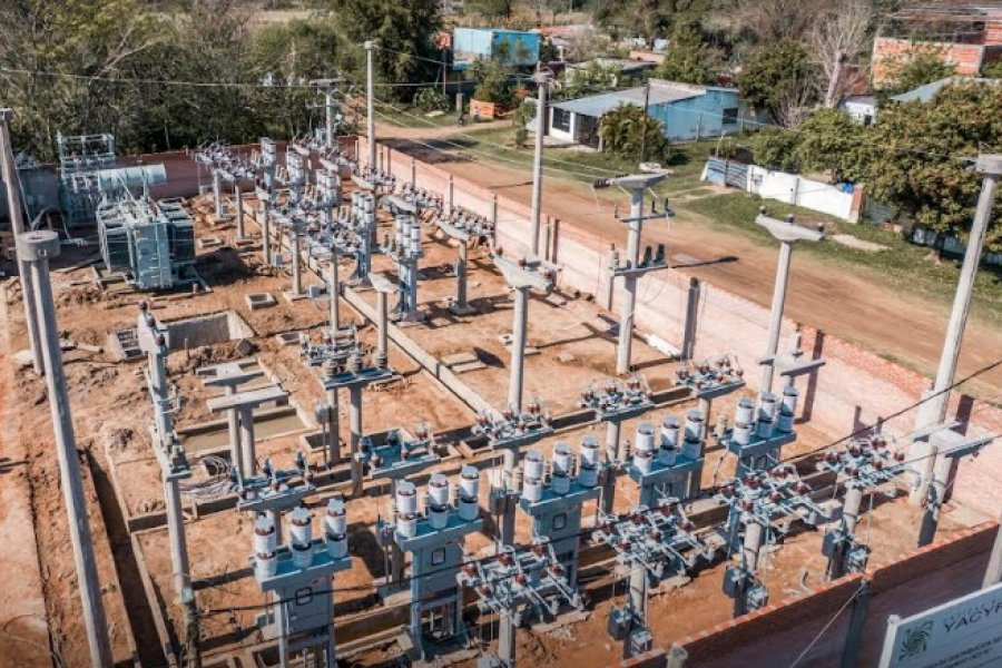 Yacyretá avanza con dos importantes obras eléctricas en Ituzaingó