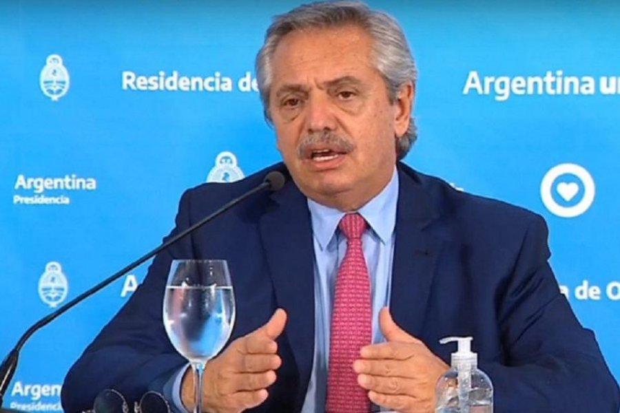 Amplio respaldo al presidente Alberto Fernández