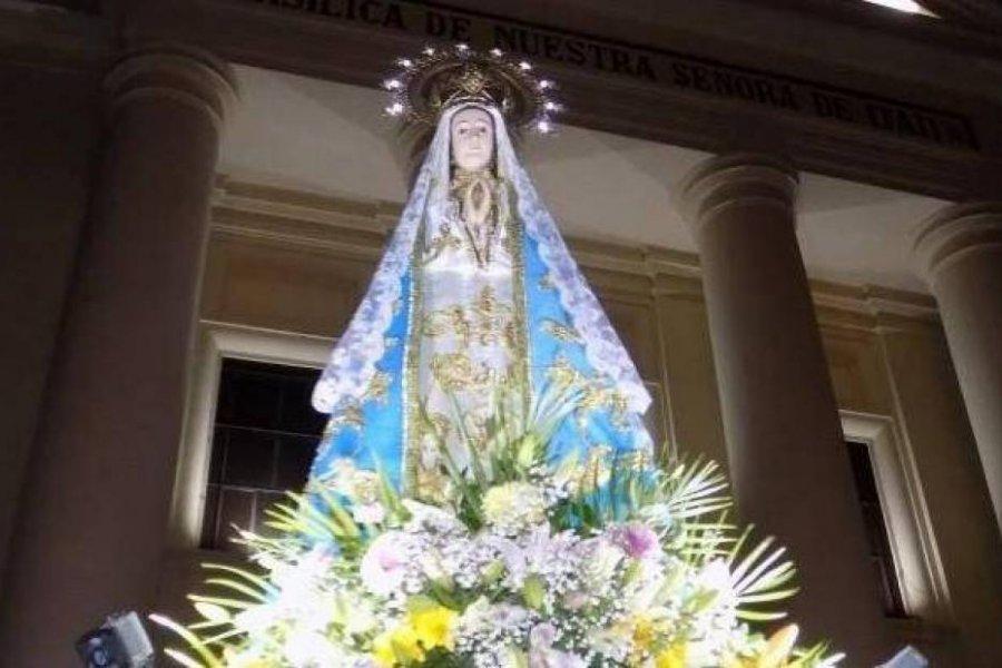 La imagen de la Virgen de Itatí saldrá de la Basílica tras más de un año