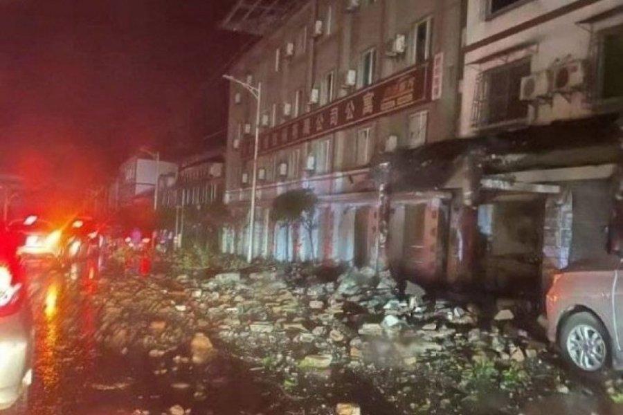 China: Al menos tres muertos tras un terremoto de magnitud 6,0