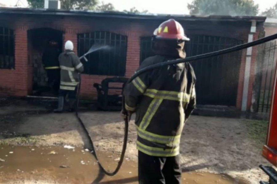 Recaudan fondos para la cirugía de una joven que sufrió quemaduras en un fatal incendio