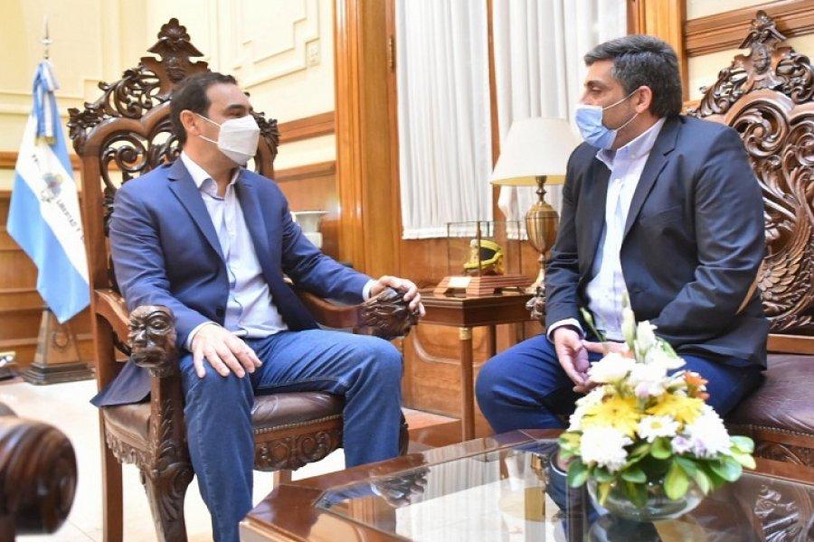Valdés y su proyección nacional: Ahora recibió a un intendente salteño